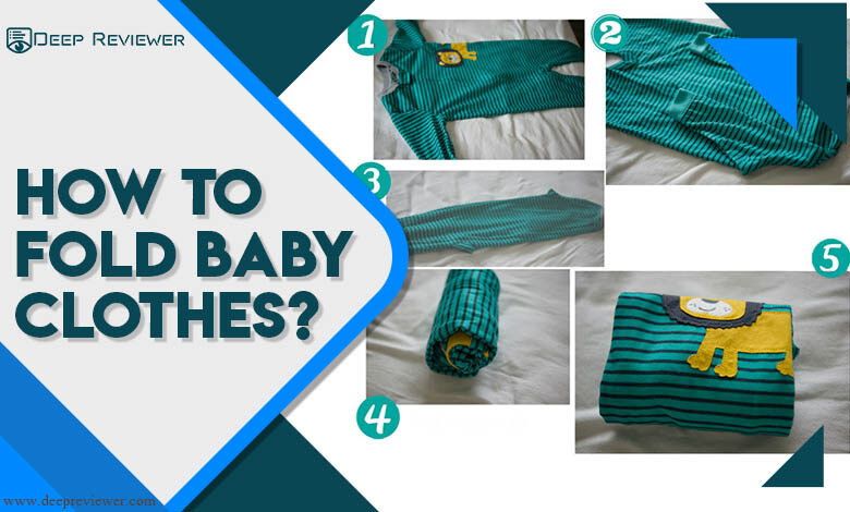 How to fold baby clothes?