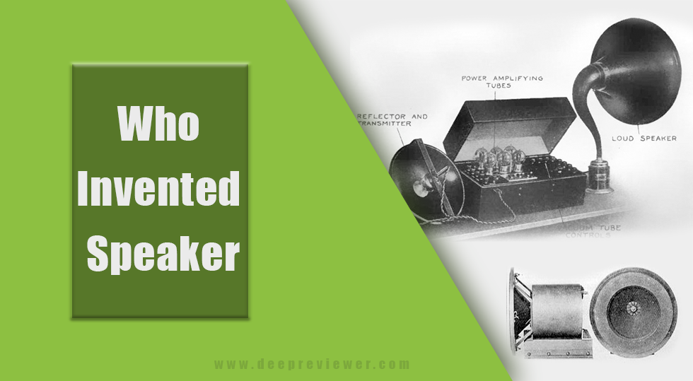 Photo of Who Invented Speaker?