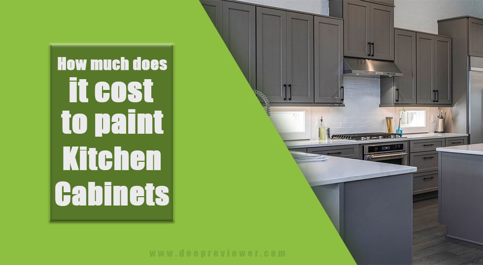 Photo of How much does it cost to paint kitchen cabinets?