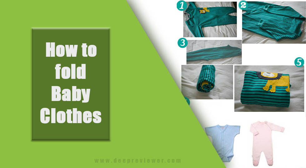 Photo of How to fold baby clothes?