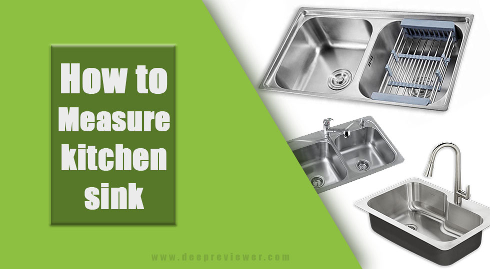 Photo of How to measure kitchen sink