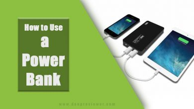Photo of how to use a power bank in a beneficially way
