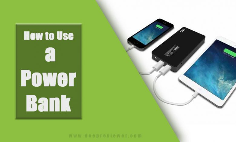 10 Effective steps How to use a power bank