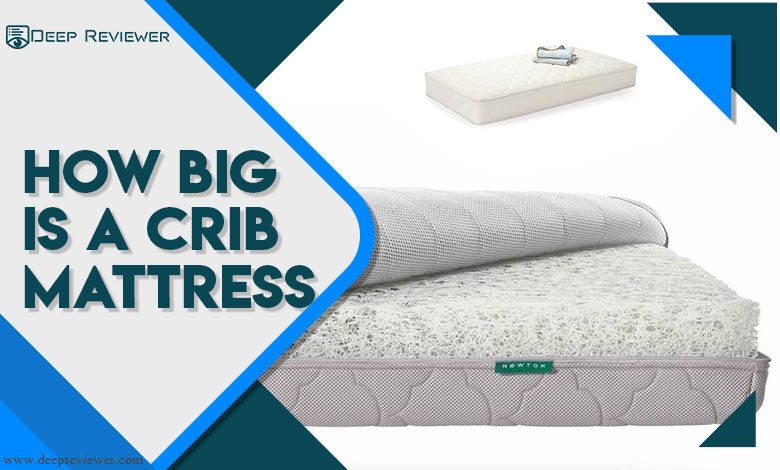 How big is a crib mattress?
