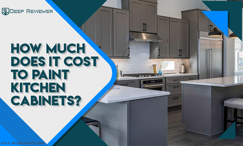 How much does it cost to paint kitchen cabinets?