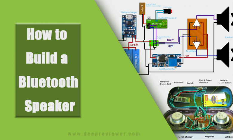 How to build a Bluetooth Speaker in 13 Easy Steps