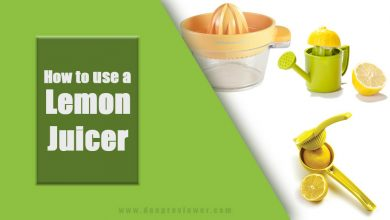 Photo of How to use a lemon juicer in a Right Way