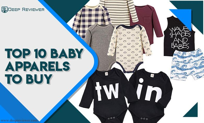 Top 10 Baby Apparels to buy